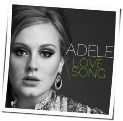 Adele guitar tabs for Love song