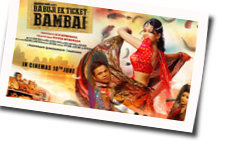 Babuji Ek Ticket Bambai chords for Aankh pe chashma daal ke