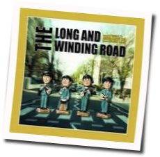 The Beatles guitar chords for The long and winding road (Ver. 2)