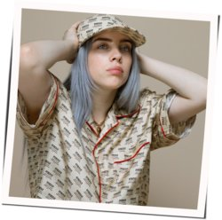 Billie Eilish guitar chords for Listen