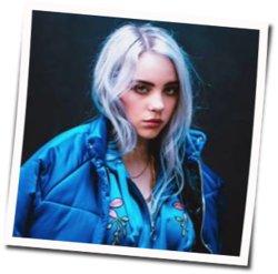 Billie Eilish guitar chords for Listen before i go (Ver. 2)
