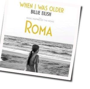 Billie Eilish guitar chords for When i was older (Ver. 2)