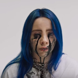 Billie Eilish guitar tabs for When the partys over