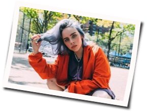 Billie Eilish guitar tabs for When the partys over acoustic