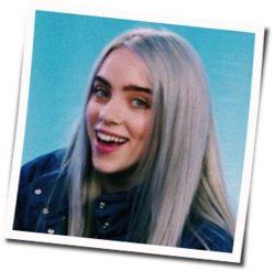 Billie Eilish guitar tabs for Wish you were gay