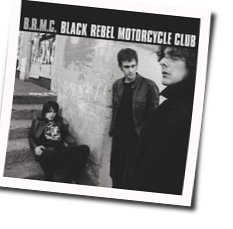 Black Rebel Motorcycle Club guitar chords for All you do is talk