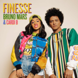 Bruno Mars Feat. Cardi B guitar chords for Finesse