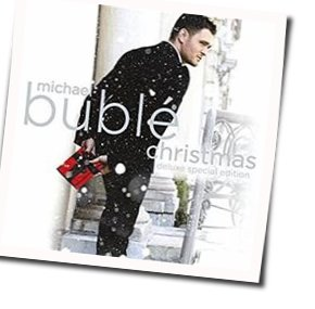 Michael Bublé guitar chords for Its beginning to look a lot like christmas