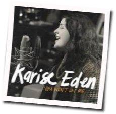 Karise Eden guitar chords for You wont let me