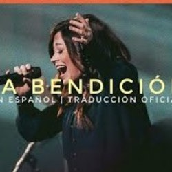 Elevation Worship guitar chords for La bendicion the blessing en espanol