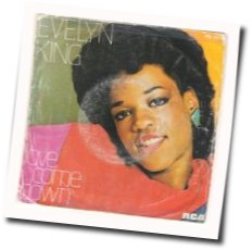 Evelyn Champagne King guitar chords for Love come down