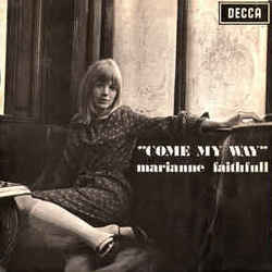 Marianne Faithfull guitar tabs for Come my way