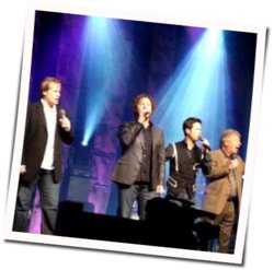 Gaither Vocal Band guitar chords for At the cross