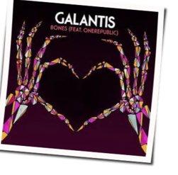 Galantis guitar chords for Bones