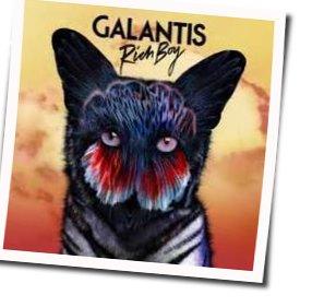 Galantis guitar chords for Rich boy