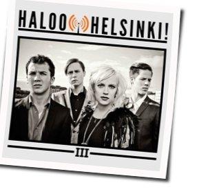 Haloo Helsinki! guitar chords for Ihan sattumaa