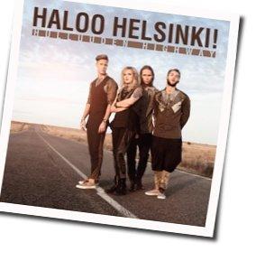 Haloo Helsinki! guitar chords for Laula lujempaa show must go on