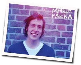 Kakkmaddafakka guitar chords for Self-esteem