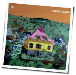 Kakkmaddafakka guitar chords for Summer melancholy