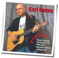 Kari Kuuva guitar chords for Rupsahda rauhassa rakkaani mun