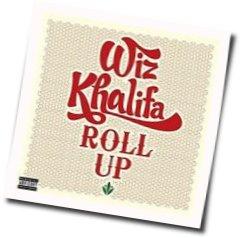 Wiz Khalifa guitar chords for Roll up