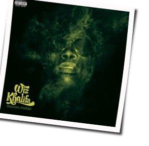 Wiz Khalifa guitar chords for Wake up