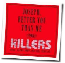The Killers guitar chords for Joseph better you than me