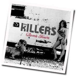 The Killers guitar chords for Sams town