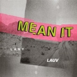 Lauv guitar tabs for Mean it