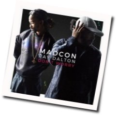 Madcon guitar chords for Dont worry