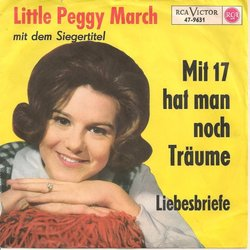 Peggy March guitar chords for Mit 17 hat man noch traeume