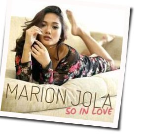 Marion Jola guitar chords for So in love