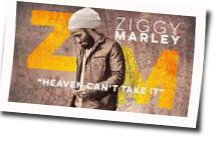 Ziggy Marley guitar chords for Heaven cant take it