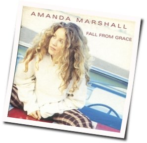 Amanda Marshall guitar chords for Fall from grace