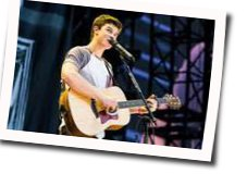 Shawn Mendes guitar chords for Drag me down