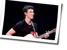 Shawn Mendes guitar chords for Imagination