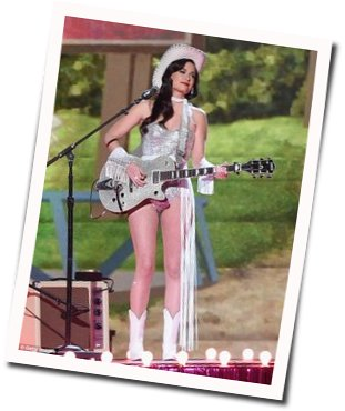 Kacey Musgraves guitar chords for Get outta my yard