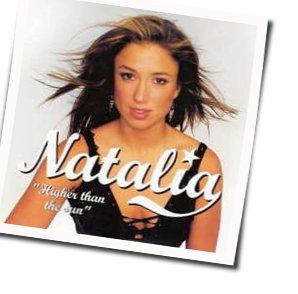 Natalia guitar chords for Higher than the sun
