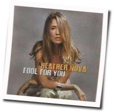 Heather Nova guitar chords for Fool for you