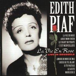 Edith Piaf guitar tabs for La vie en rose