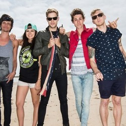 The Summer Set guitar chords for Love on our side