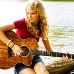 Taylor Swift guitar chords for A place in this world (Ver. 4)