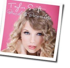 Taylor Swift guitar chords for Back to december (Ver. 3)
