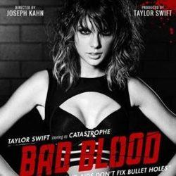 Taylor Swift guitar chords for Bad blood (Ver. 4)