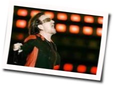 U2 guitar chords for California there is no end to love