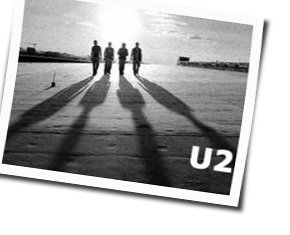 U2 guitar tabs for Electrical storm