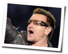 U2 guitar chords for Every breaking wave