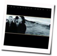 U2 guitar tabs for Exit