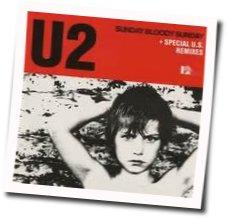 U2 guitar chords for Sunday bloody sunday (Ver. 2)