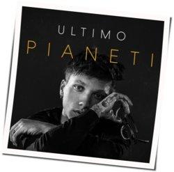 Ultimo guitar chords for Pianeti